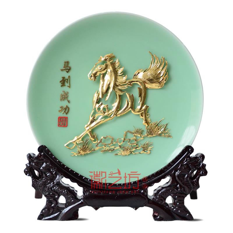 金马镀金芜湖铁画马到成功 馈赠亲友合作伙伴安徽特色文化礼品