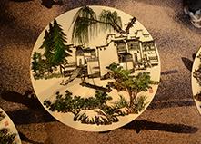 徽艺坊为客户创新把铁画艺术与餐桌完美结合
