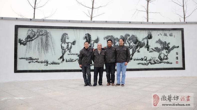 2016.11.22亳芜产业园广场装饰壁画案例回顾9