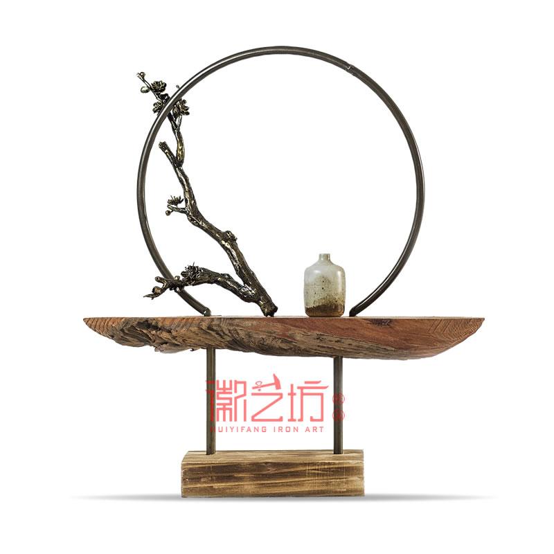 立体铁艺金属摆件芜湖铁画 国家级非遗手工艺术品