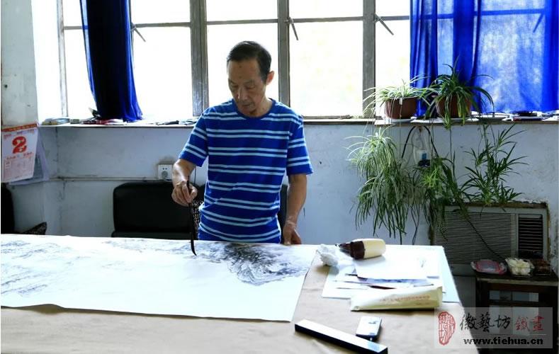 中国鳄鱼湖芜湖铁画3