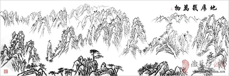 6 徽艺坊铁画壁画案例-明光市人民医院