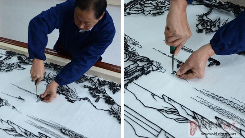 11 徽艺坊铁画壁画案例-明光市人民医院13
