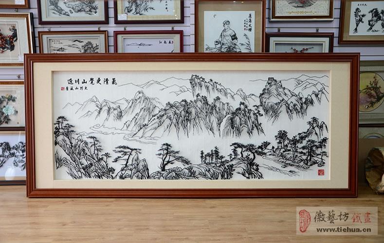 14 徽艺坊铁画壁画案例-明光市人民医院
