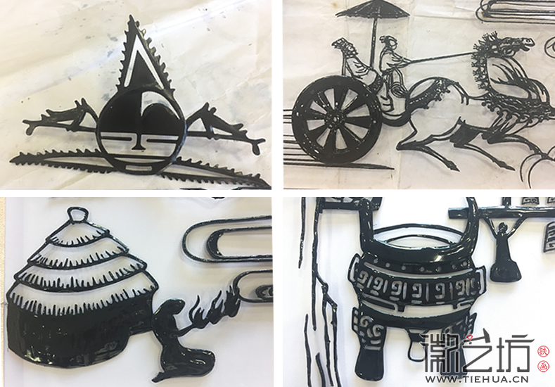 南京鼓楼实验中学校园文化墙壁画《穿越五千年》