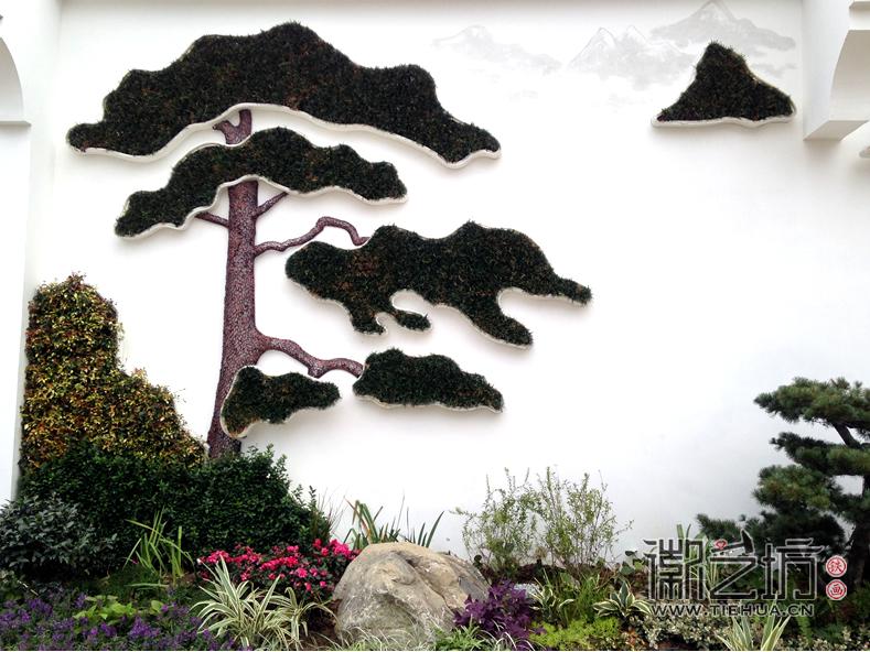 徽艺坊定制合肥明光路地铁站出口景观墙铁画 (3)