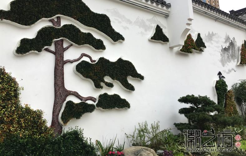 徽艺坊定制合肥明光路地铁站出口景观墙铁画 (21)