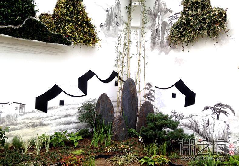 徽艺坊定制合肥明光路地铁站出口景观墙铁画 (5)
