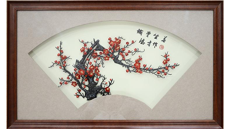 铁骨生春-张德才大师铁画作品